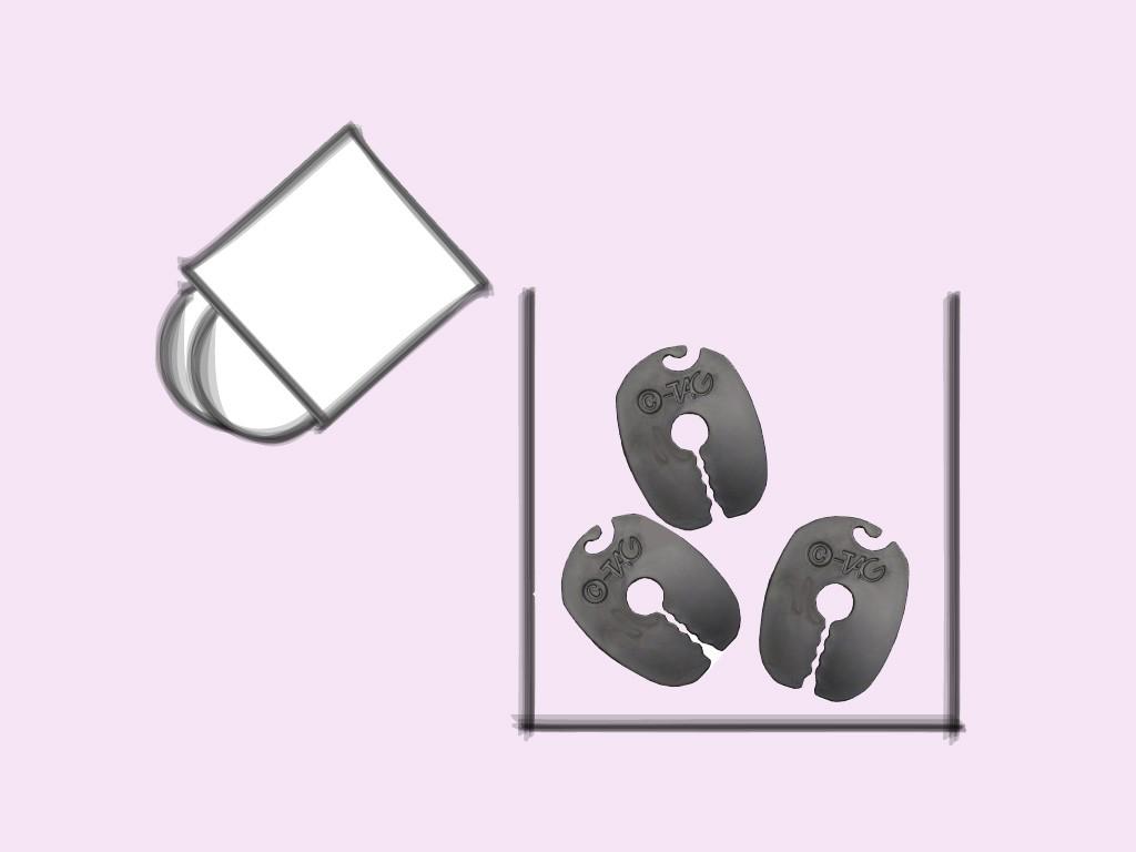 Sockenclips / Sockenklammern